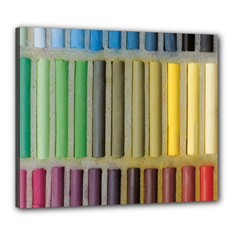 Pastels Cretaceous About Color Canvas 24  X 20