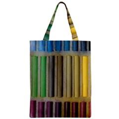 Pastels Cretaceous About Color Zipper Classic Tote Bag