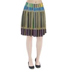 Pastels Cretaceous About Color Pleated Skirt