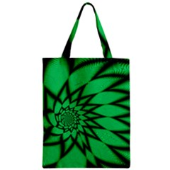 The Fourth Dimension Fractal Zipper Classic Tote Bag