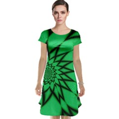 The Fourth Dimension Fractal Cap Sleeve Nightdress