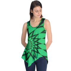 The Fourth Dimension Fractal Sleeveless Tunic