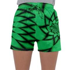 The Fourth Dimension Fractal Sleepwear Shorts