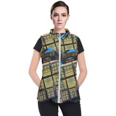 Rectangular Women s Puffer Vest