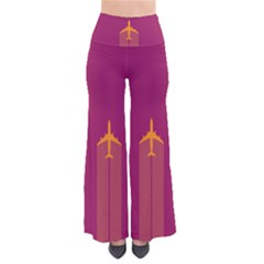 Airplane Jet Yellow Flying Wings Pants