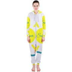 Summer Beach Holiday Holidays Sun Hooded Jumpsuit (ladies)
