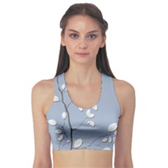 Branch Leaves Branches Plant Sports Bra