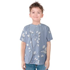 Branch Leaves Branches Plant Kids  Cotton Tee