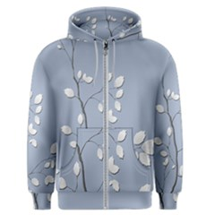 Branch Leaves Branches Plant Men s Zipper Hoodie