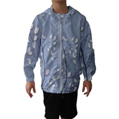 Branch Leaves Branches Plant Hooded Wind Breaker (kids)