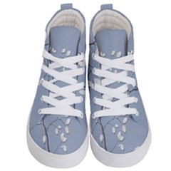 Branch Leaves Branches Plant Kid s Hi Top Skate Sneakers