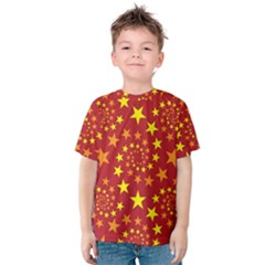 Star Stars Pattern Design Kids  Cotton Tee