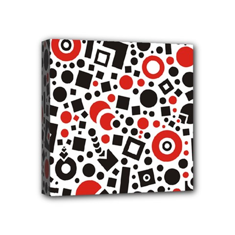 Square Objects Future Modern Mini Canvas 4  X 4