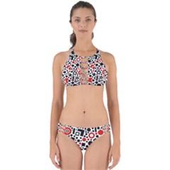 Square Objects Future Modern Perfectly Cut Out Bikini Set