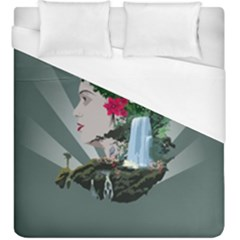 Digital Nature Beauty Duvet Cover (king Size)