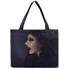 Vampire Woman Vampire Lady Mini Tote Bag