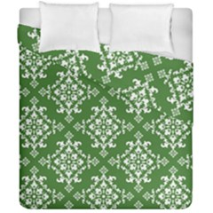 St Patrick S Day Damask Vintage Duvet Cover Double Side (california King Size)