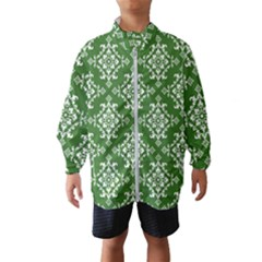 St Patrick S Day Damask Vintage Wind Breaker (kids)