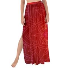 Mandala Ornament Floral Pattern Maxi Chiffon Tie Up Sarong