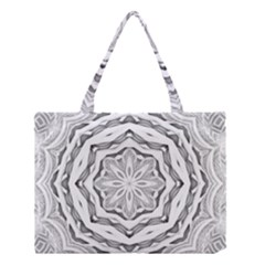 Mandala Pattern Floral Medium Tote Bag