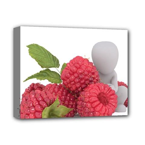 Fruit Healthy Vitamin Vegan Deluxe Canvas 14  X 11