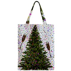 New Year S Eve New Year S Day Zipper Classic Tote Bag