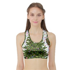 New Year S Eve New Year S Day Sports Bra With Border
