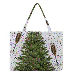 New Year S Eve New Year S Day Medium Tote Bag