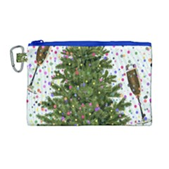 New Year S Eve New Year S Day Canvas Cosmetic Bag (large)