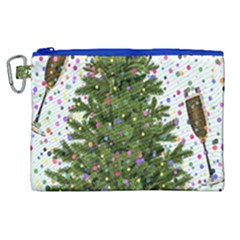 New Year S Eve New Year S Day Canvas Cosmetic Bag (xl)
