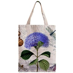 Vintage Shabby Chic Dragonflies Classic Tote Bag