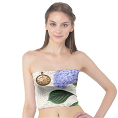 Vintage Shabby Chic Dragonflies Tube Top