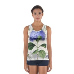 Vintage Shabby Chic Dragonflies Sport Tank Top