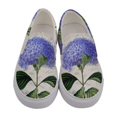 Vintage Shabby Chic Dragonflies Women s Canvas Slip Ons