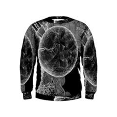 Space Universe Earth Rocket Kids  Sweatshirt