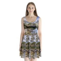 Hintersee Ramsau Berchtesgaden Split Back Mini Dress