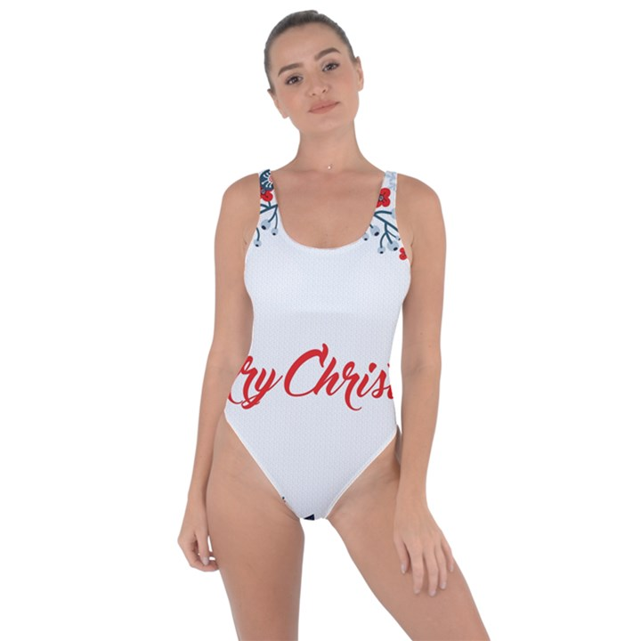 Merry Christmas Christmas Greeting Bring Sexy Back Swimsuit