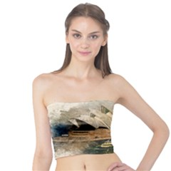 Sydney The Opera House Watercolor Tube Top