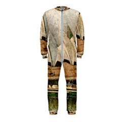 Sydney The Opera House Watercolor Onepiece Jumpsuit (kids)