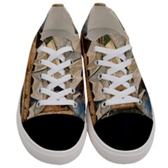 Sydney The Opera House Watercolor Women s Low Top Canvas Sneakers