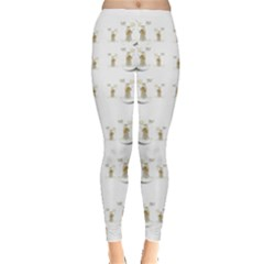 Angels Under The  Sun And Peace Doves Leggings