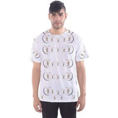 Angels Under The  Sun And Peace Doves Men s Sports Mesh Tee