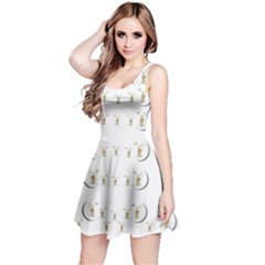 Angels Under The  Sun And Peace Doves Reversible Sleeveless Dress