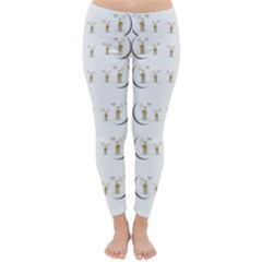Angels Under The  Sun And Peace Doves Classic Winter Leggings
