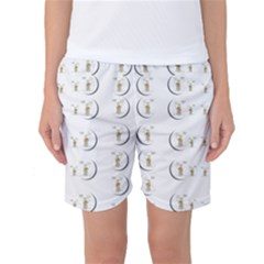 Angels Under The  Sun And Peace Doves Women s Basketball Shorts