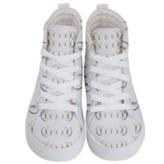 Angels Under The  Sun And Peace Doves Kid s Hi Top Skate Sneakers