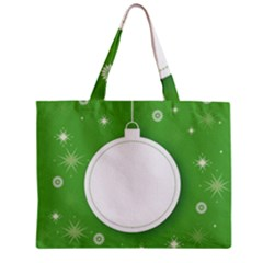 Christmas Bauble Ball Zipper Mini Tote Bag
