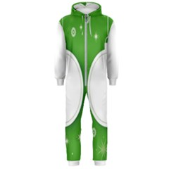 Christmas Bauble Ball Hooded Jumpsuit (men)