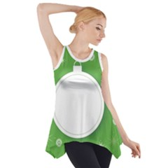 Christmas Bauble Ball Side Drop Tank Tunic