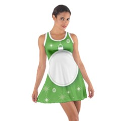 Christmas Bauble Ball Cotton Racerback Dress